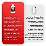 Maca Kapseln hochdosiert 4000 mg + L-Arginin 1800 mg + Vitamine + Zink, 240 Kapseln für 2 Monate, Qualitätsprodukt-Made-in-Germany jetzt zum Aktionspreis und 30 Tage kostenlose Rücknahme! 1er Pack (1 x 206,4 g) - 4