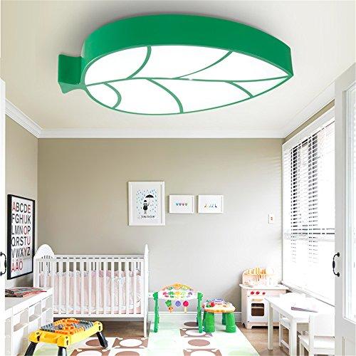 BRIGHTLLT Kindergarten Teaching Centre Kinderzimmer Schlafzimmer für Jungen und Mädchen zur Erleuchtung Blätter benutzerdefinierte LED-Decke, Beleuchtung und 600 * 400 mm - 400-decken-beleuchtung