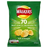 Walkers Crisps Salt & Vinegar 32 x 32,5g