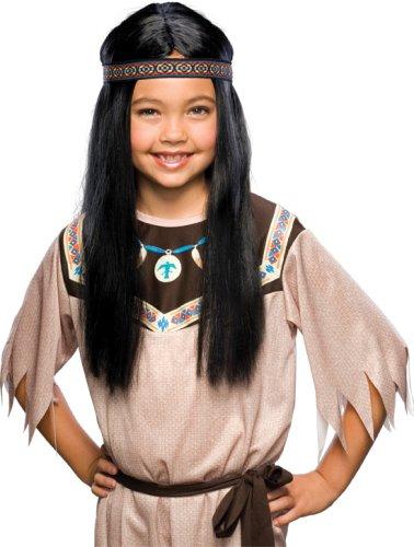 Indian Maiden Wig (Kostüme Maiden Erwachsene Indian)