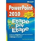 PowerPoint 2010 - Étape par Étape