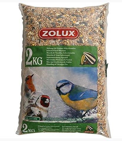 Mélange de graines pour oiseaux de la nature sac de