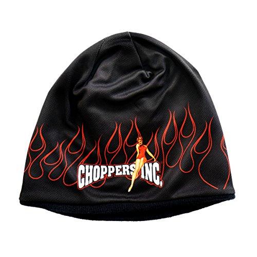 Daywalker Bikestuff Beanie • Mütze • Biker • Flames • Choppers inc • Knit Cap Logo Print Bombshell Nose Art -