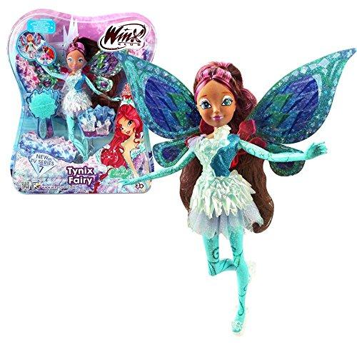 Winx Club - Tynix Fairy Puppe - Fee Layla Aisha magisches Gewand