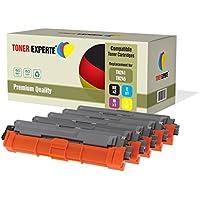 Kit 5 TONER EXPERTE® TN241 TN245 Toner compatibili per Brother DCP-9015CDW, DCP-9020CDW, MFC-9140CDN, MFC-9330CDW, MFC-9340CDW, HL-3140CW, HL-3142CW, HL-3150CDW, HL-3152CDW, HL-3170CDW, HL-3172CDW, MFC-9130CW