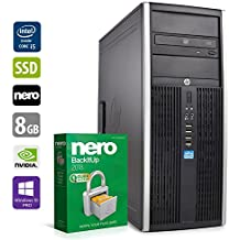 PC Gamer Multimédia Unité Centrale - HP Elite 8200 - Nvidia Geforce GTX1050 - Core i5-2400 @3,1GHz - 8Go DDR3RAM - 240Go SSD - 1To HDD - Lecteur DVD - Win 10 Pro 64 Bits (Reconditionné Certifié)