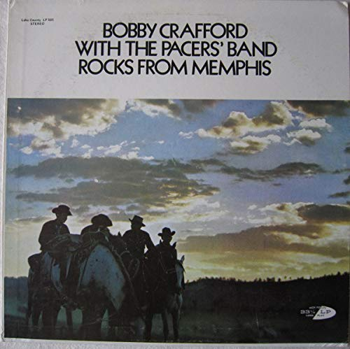 With The Pacers' Band - Rocks From Memphis [Vinyl LP] -