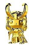 FunKo - Pop! : Marvel Studios 10: Loki (Chrome) (Bobblehead), Multicolor, 33435