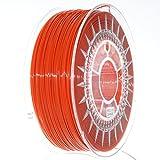 NuNus PETG Filament 1KG (1.75mm, orange) Premium Qualität in verschiedenen Farben,geeignet für 3D Drucker,3D Pen, MakerGear Ultimaker uvm