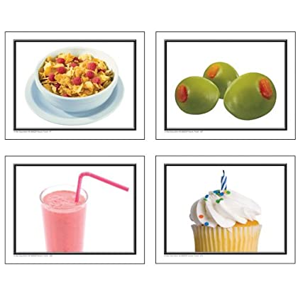 Nouns: More Food Learning Cards