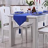 Tabla De Mesa De Mesa De Tabla Mesa De Café De Estilo Simple Moderno Tabla De Colores Sólidos Flag,35*183CM-A
