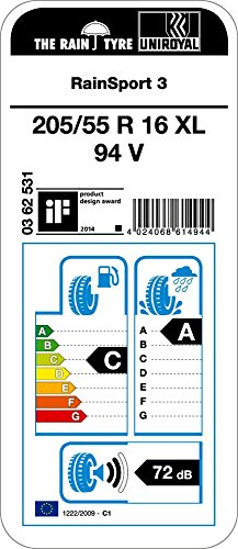 3-RainSport-UNIROYAL-20555-R16-94-V-pneumatici-estivi-PKW-C-72-La