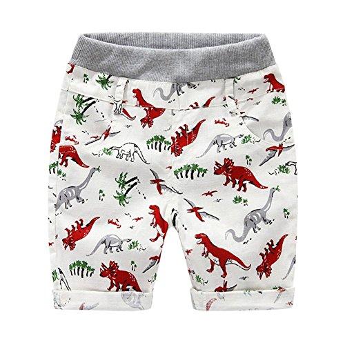 Muster Igel Kostüm - KOKOUK Kleinkind Jungen Kurze Hosen Dinosaurier Muster Baumwolle Shorts Hawaiian Bottoms Sommer