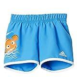 adidas Jungen Badeshorts Disney Nemo, Shock Blue, 104
