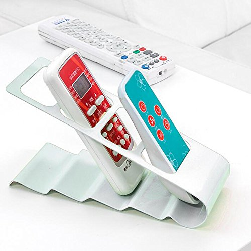 anday-tv-dvd-vcr-step-remote-controlmobile-phone-holder-standstorage-organiser-white