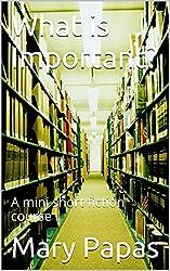 What is Important?: A mini short fiction course