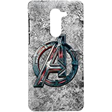 Honor 6x Printed Hard Back Cover - Avenger Logo (By Fancy Interio).