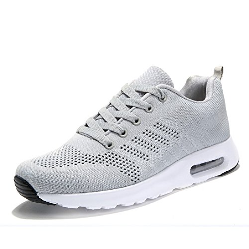 3adc41bf2 YORWOR Femmes Baskets Mode Chaussures Jogging Course Gym Fitness ...