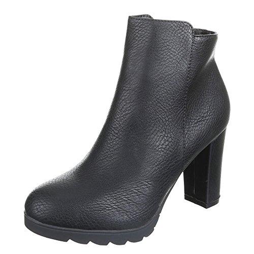 Ital - 2116–gA-femme Noir - Noir