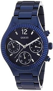 Guess W0323L4 - Reloj de pulsera para mujer, color blanco / plata de Guess