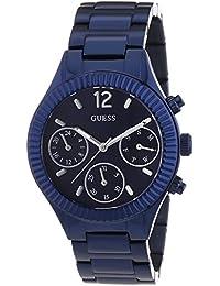 Guess W0323L4 - Reloj de pulsera para mujer, color blanco / plata