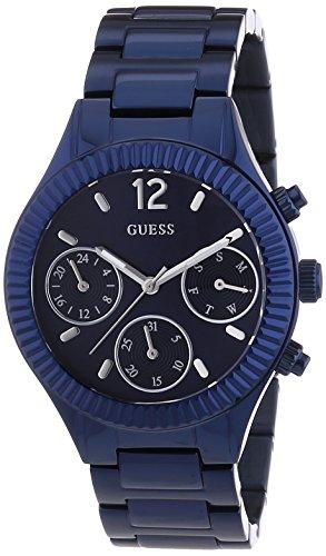 Guess W0323L4 - Reloj de Pulsera para Mujer, Color Blanco/Plata