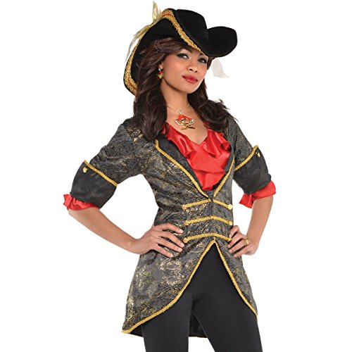 Women's Pirate Jacket (Womens Pirate Fancy Dress)