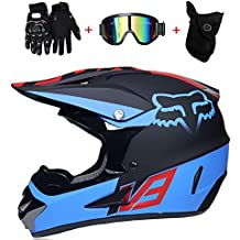 f1fdad9b0 PinkDreamland Casco de Motocross Adulto Casco MX Motocicleta ATV Scooter  Descenso Casco de Seguridad ATV Casco