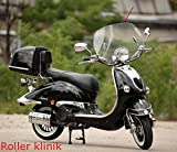 Windschild retro roller Windschutzscheibe china Roller ZNEN BENZHOU