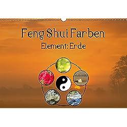 Feng Shui Farben - Element Erde (Wandkalender 2019 DIN A3 quer): Die Farben Gelb, Ocker und Braun stehen in der Feng Shui Lehre für das Element der ... (Monatskalender, 14 Seiten ) (CALVENDO Natur)