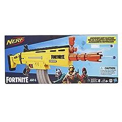 Idea Regalo - Hasbro Nerf Fortnite Ar L, Blaster con 20 Dardi