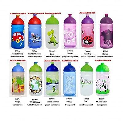 ISYbe Trinkflasche, schadstofffrei, spülmaschinengeeignet, auslaufsicher