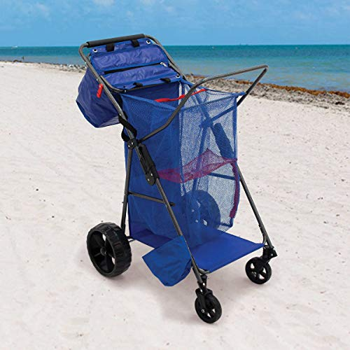 Wonder Wheeler Carro portasillas Playa Aluminio Beach