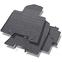 Mossa Alfombrillas de goma - 4-piezas - un ajuste perfecto - negro - 5902538448116