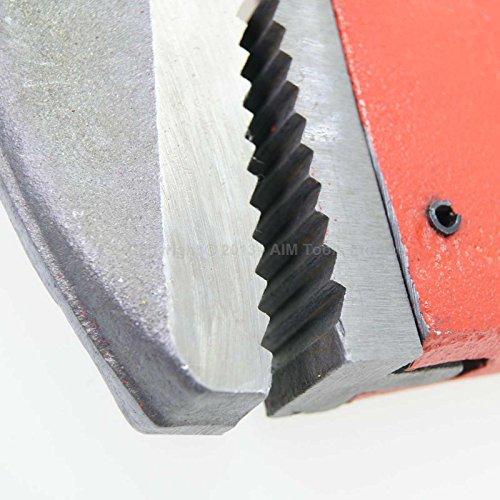 "318197 Leicht Stahl Rohrschneider Tropfenförmig geschmiedet Verstellbarer Schraubenschlüssel 48"" Uk Verkäufer"
