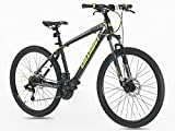 Mountain bike,STEEL Frame & Fork ,Front suspension ,Size 26 Inch, GREENWAY