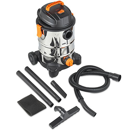 VonHaus 3 in 1 Wet and Dry Bagless 30L Vacuum Cleaner with Blower | 1250W | Powerful 17Kpa Suction | Large Capacity | Includes Floor Brush and Crevice Tool Img 4 Zoom