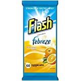 Forte de Flash Weave Lingettes orange avec Febreze (60) - Paquet de 2