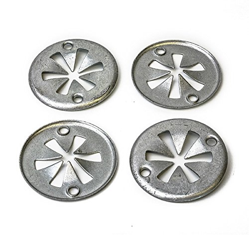 Preisvergleich Produktbild INIBUD 20x Metall Klemmscheibe Abdeckung Befestigung Clips für Audi Ford Seat Skoda VW N90335004 N90335006