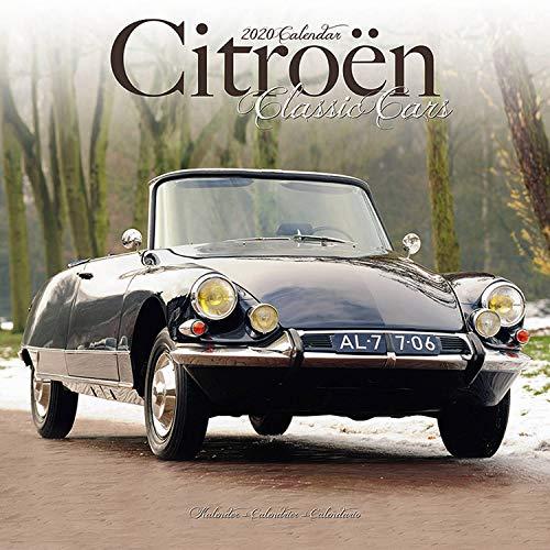Citroën Classic Cars - Oldtimer von Citroën 2020: Original Avonside-Kalender [Mehrsprachig] [Kalender] (Wall-Kalender)