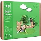 Große Bausteine – kreatives Spielzeug, 30 XL Bausteine. Wunderschönes Geschenk für ein Mädchen und einen Jungen