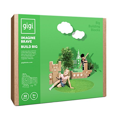 Gigi Bloks Bloques Construcción Gigantes Cartón