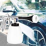 Qulista Tornado Gun Auto-Innenreinigung Reinigungspistole Druckluft, 5-8Bar,Schaumkanone Schaumpistole zur schonenden Autowäsche