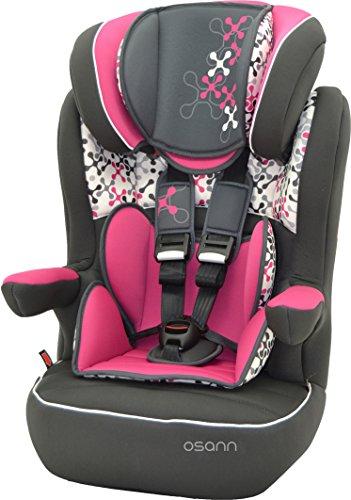 Osann i-max SP- Asiento infantil para coche (grupo ECE 1, 2 y 3, de 9 hasta 36 kg) Corail rosa Talla:Grupo 1/2/3