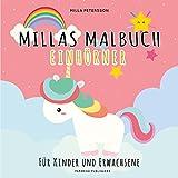 Die besten 4-Jährige Bücher - Einhorn Malbuch - MILLAS EINHORN MALBUCH: Für Kinder Bewertungen