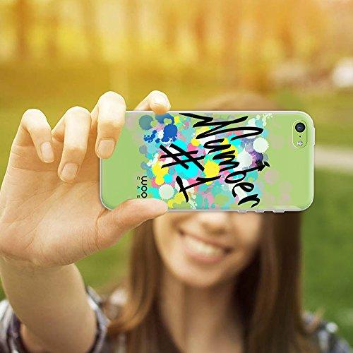 iPhone 5C Hülle, WoowCase Handyhülle Silikon für [ iPhone 5C ] Coloriertes Graffiti Handytasche Handy Cover Case Schutzhülle Flexible TPU - Transparent Hybrid Hülle iPhone 5C H0007