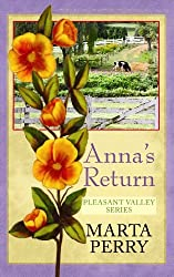 Anna's Return (Center Point Christian Romance (Large Print)) by Marta Perry (2010-07-06)