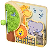 Haba 300129 - Zoo Babybuch Zoofreunde, Kleinkindspielzeug