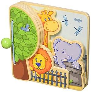 HABA 300129 Zoo Friends - Libro para bebé