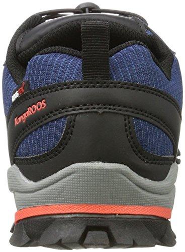 Canguro Unisex Adulto Molas Sneaker Blu (k Blu / Fuoco)